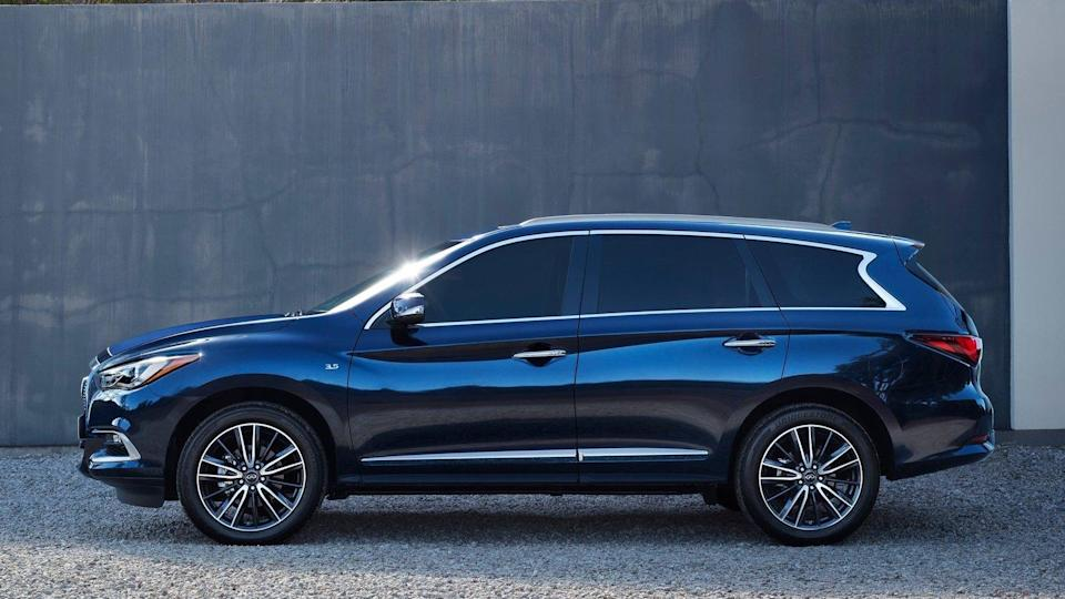 <p><strong>2019 Infiniti QX60:</strong></p> <p>Retail Price: <strong>$52,150</strong><br> Average Transaction: <strong>$45,279</strong><br> Savings: <strong>$6,871</strong><br> Percentage Discount: <strong>13.2%</strong></p> <hr> <p><strong>2019 Infiniti Q70:</strong></p> <p>Retail Price: <strong>$54,420</strong><br> Average Transaction: <strong>$47,759</strong><br> Savings: <strong>$6,661</strong><br> Percentage Discount: <strong>12.2%</strong></p>