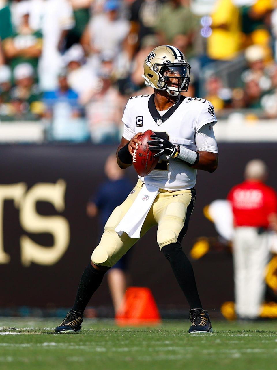 Saints quarterback Jameis Winston had a career-high 5 TD passes against the Packers.