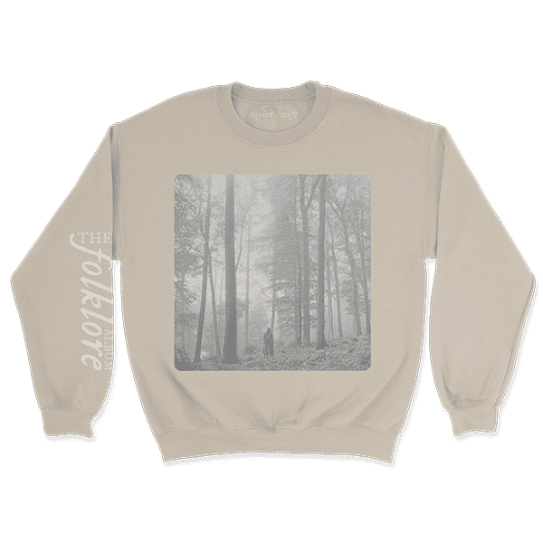 "<p><span>Taylor Swift ""In the Trees"" Pullover and Standard Digital Album</span> ($55)</p>"