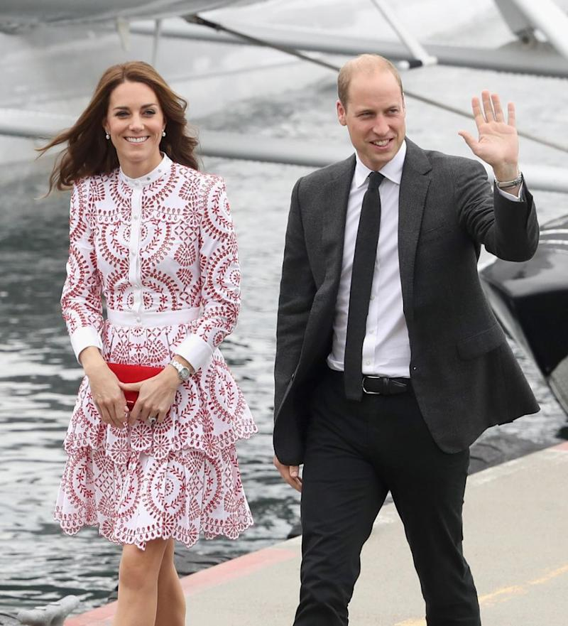 When they set foot in Scotland, they're supposed to be called by their official titles of the Earl and Countess of Strathearn. Photo: Getty Images