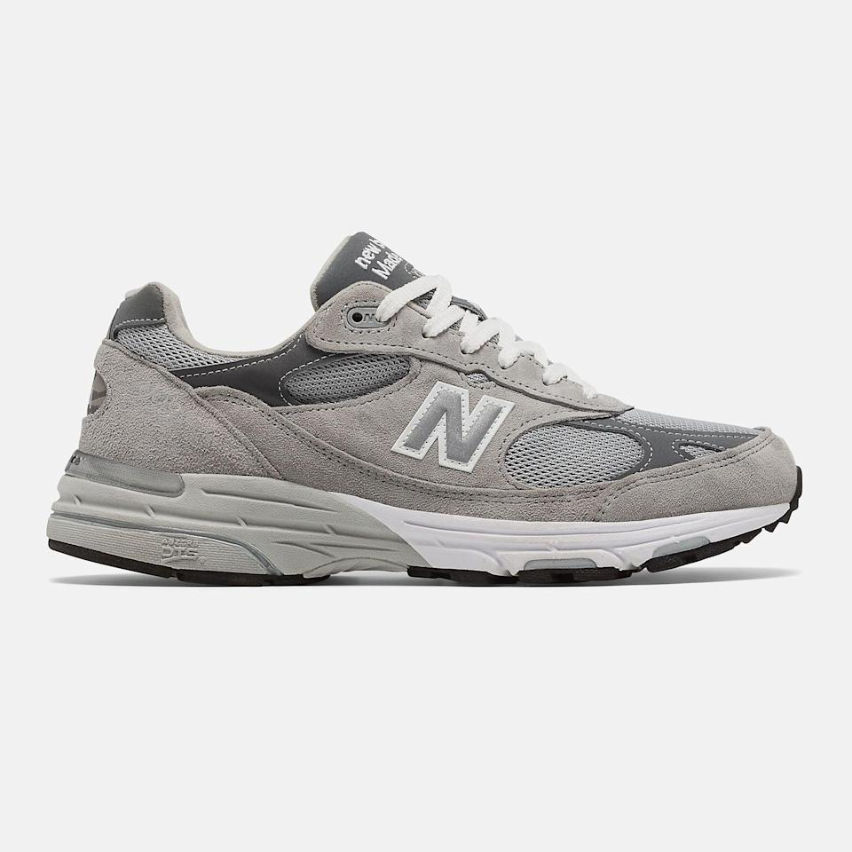 """<p><span>New Balance 993 Sneakers</span> ($175)</p> <p>""""I've been living in my 993s for about two years now and the hype around them doesn't seem to be dying down anytime soon. They honestly make any outfit look elevated and they're super comfortable and don't hurt my knees when I walk which is a huge plus for me."""" - Nikita Charuza, editor, Fashion</p>"""