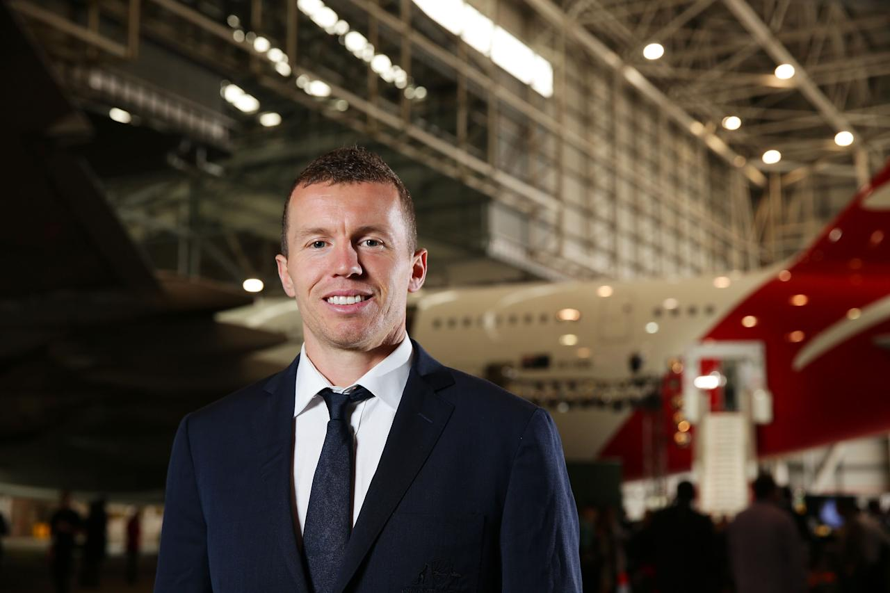 SYDNEY, AUSTRALIA - MAY 22:  Peter Siddle poses during the Cricket Australia Ashes official team farewell at Sydney International Airport on May 22, 2013 in Sydney, Australia.  (Photo by Matt King/Getty Images)