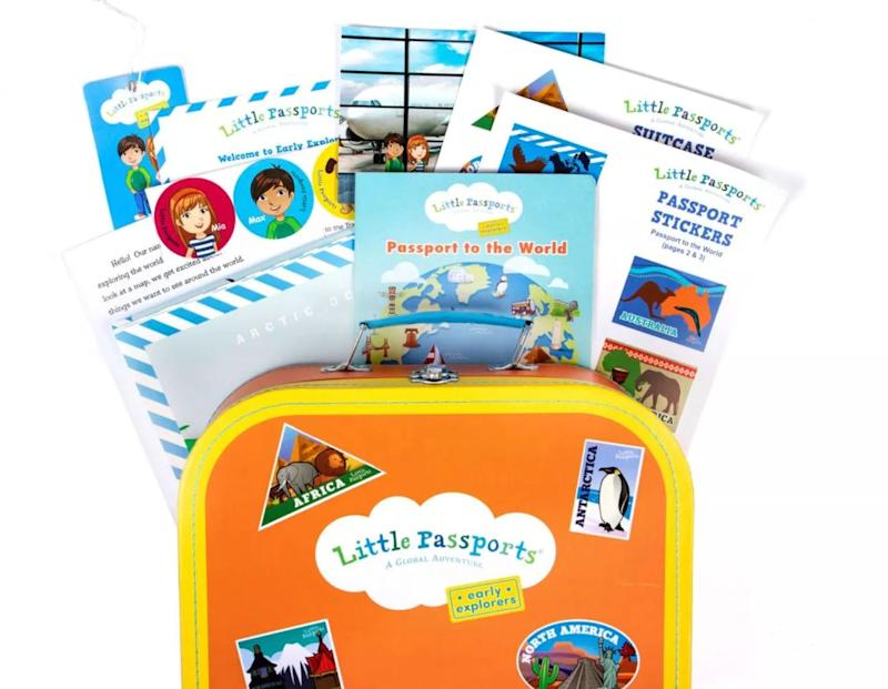 """Subscription boxes aren&rsquo;t just for adults. Give the gift of adventure with these <strong><a href=""""https://fave.co/36ZSjl8"""" target=""""_blank"""" rel=""""noopener noreferrer"""">monthly subscription activity boxes </a></strong>made for children 3 to 12 years old. <strong><a href=""""https://fave.co/36ZSjl8"""" target=""""_blank"""" rel=""""noopener noreferrer"""">Learn more at Little Passports</a></strong>."""