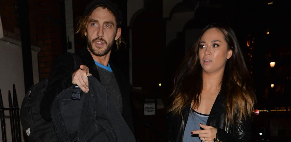 Seann Walsh and Katya Jones were pictured kissing during filming of 'Strictly' 2018. (Getty Images)