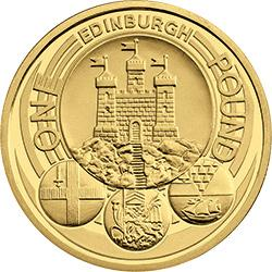 The Edinburgh City design on the £1 coin has been identified as the most rare
