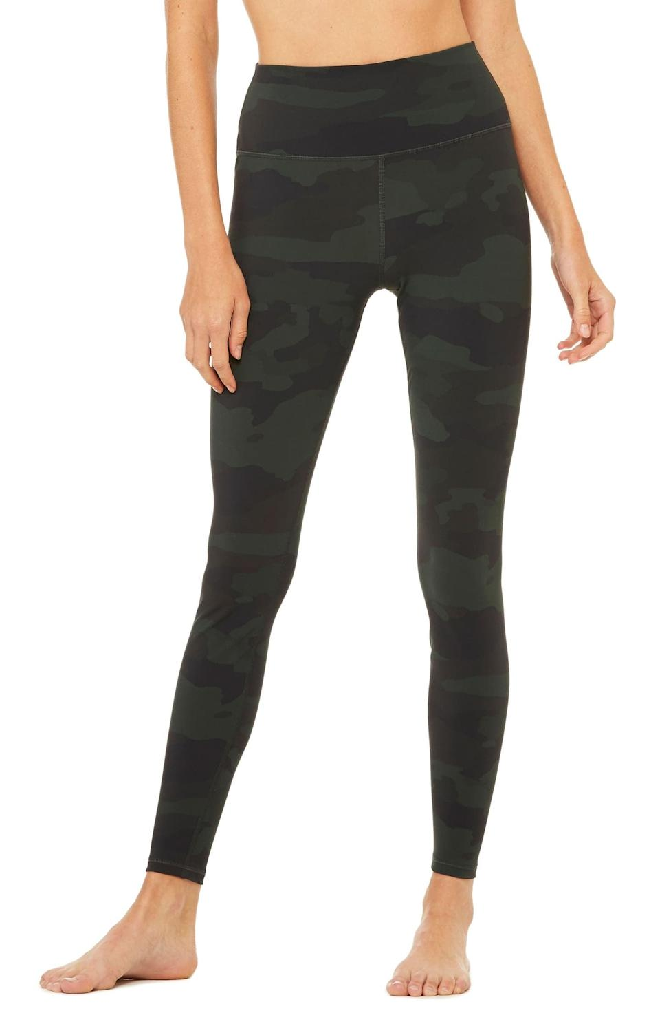 <p>These <span>Alo Vapor High Waist Leggings</span> ($128) are comfortable and cute.</p>