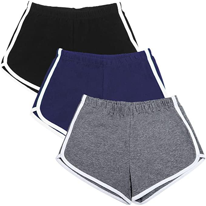 "<h2>URATOT Athletic Shorts 3-Pack</h2><br>Embrace the comfort of the '90s with these camp-counselor-style soft shorts available in an easy pack of three.<br><br><strong>URATOT</strong> URATOT Athletic Shorts 3-Pack, $, available at <a href=""https://www.amazon.com/URATOT-Running-Athletic-Workout-Elastic/dp/B0895BFTTC/ref=sr_1_67_sspa?"" rel=""nofollow noopener"" target=""_blank"" data-ylk=""slk:Amazon"" class=""link rapid-noclick-resp"">Amazon</a>"