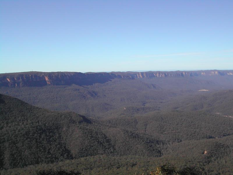 Blue Mountains. (Photo: Wikimedia Commons)