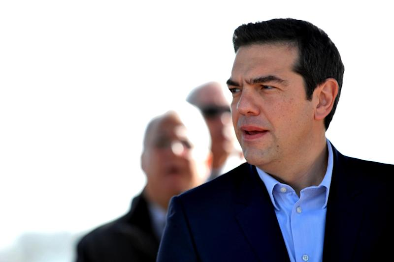 Greece's new Prime Minister Alexis Tsipras has sought to calm speculation over a shift towards Moscow, just as he has moved to ease tensions with Greece's international creditors (AFP Photo/Maria Christodoulou)