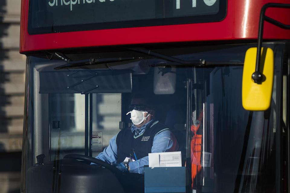 29 London bus workers have died during the pandemic (PA)