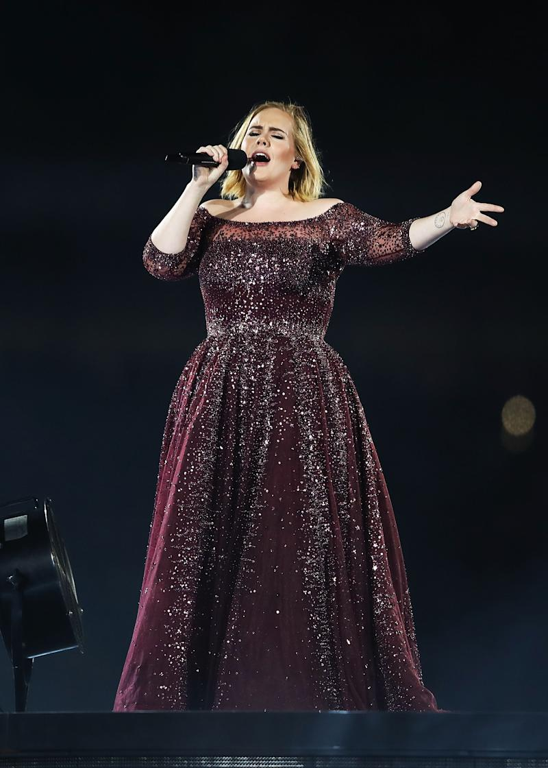 Adele Sneaks Into Her Concerts by Hiding in a Box on Wheels
