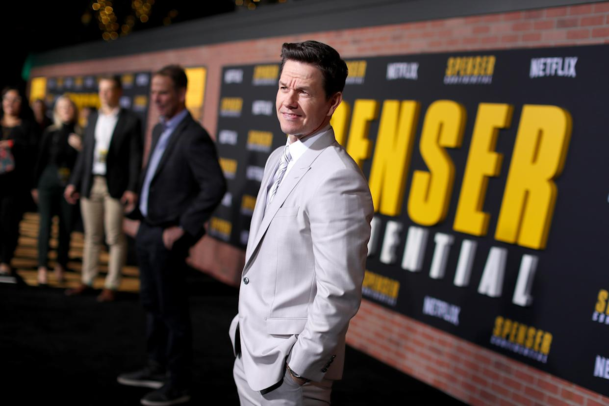 Mark Wahlberg confessed he is finding physical transformations more difficult as he has aged. (Joe Scarnici/Getty Images for Netflix)
