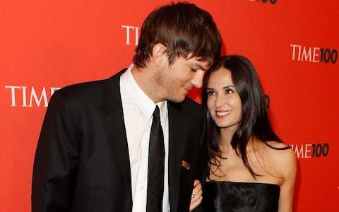 Though Ashton Kutcher clearly loved Demi Moore, he eventually moved on to Mila Kunis, who is closer to his age - Credit: LUCAS JACKSON