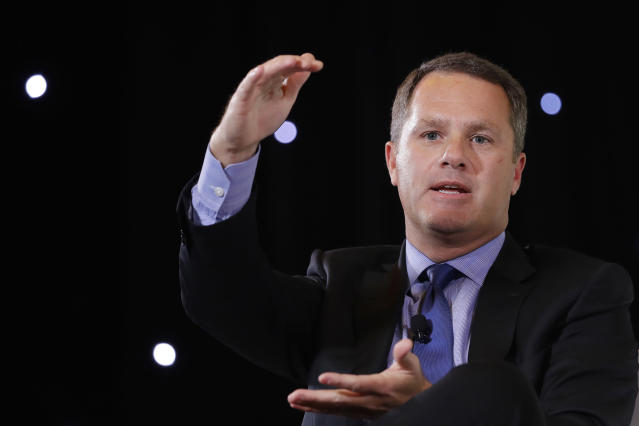 Walmart CEO Doug McMillon (AP Photo/Mark Lennihan)