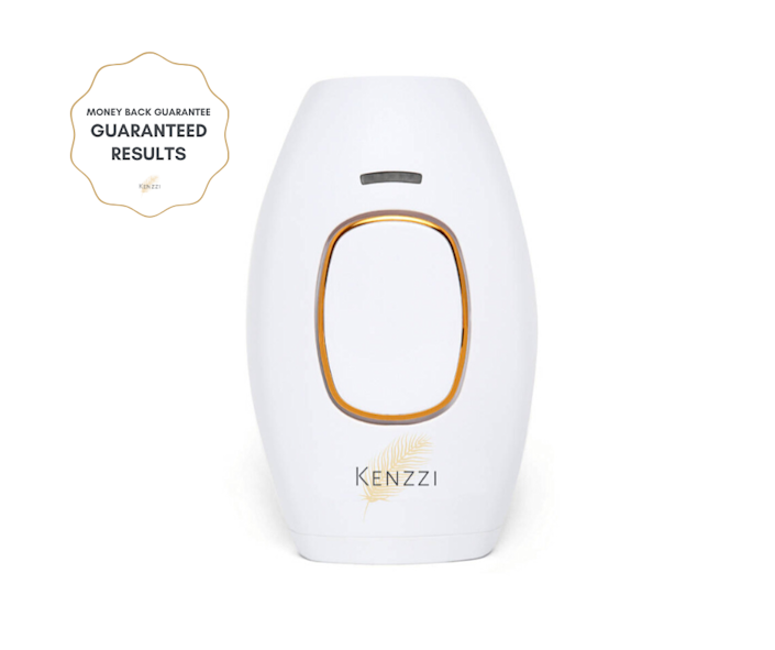 """<p><strong>kenzzi</strong></p><p>kenzzi.com</p><p><strong>$229.00</strong></p><p><a href=""""https://go.redirectingat.com?id=74968X1596630&url=https%3A%2F%2Fkenzzi.com%2Fproducts%2Fkenzzi-ipl-hair-removal-handset&sref=https%3A%2F%2Fwww.goodhousekeeping.com%2Fbeauty%2Fanti-aging%2Fg32585275%2Fbest-at-home-laser-hair-removal%2F"""" rel=""""nofollow noopener"""" target=""""_blank"""" data-ylk=""""slk:Shop Now"""" class=""""link rapid-noclick-resp"""">Shop Now</a></p><p>The Kenzzi IPL hair removal handset has been a fairly popular device in recent years. It can be used on your face to the bikini area and claims to <strong>provide over ten years of flashes and offers five power settings to suit various skin tones.</strong> </p><p>Keep in mind: some users complain about shipping (weeks of waiting before arrival) and issues with customer service.</p>"""