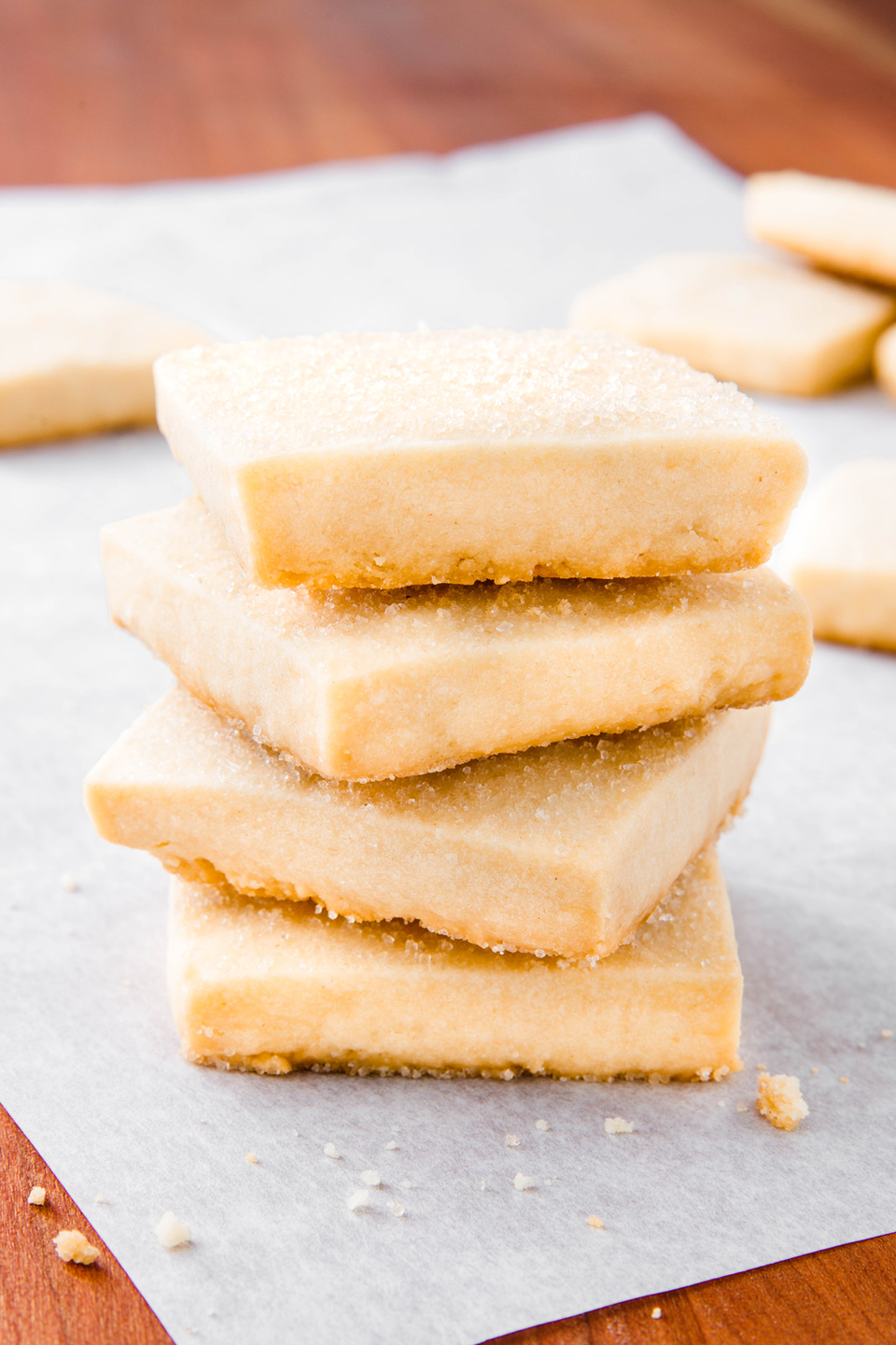 """<p>Homemade > cookies from a tin. </p><p>Get the recipe from <a href=""""https://www.delish.com/cooking/recipe-ideas/a24687595/shortbread-cookie-recipe/"""" rel=""""nofollow noopener"""" target=""""_blank"""" data-ylk=""""slk:Delish"""" class=""""link rapid-noclick-resp"""">Delish</a>. </p>"""