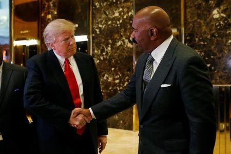 Why are people calling Steve Harvey a coon for meeting with Trump?