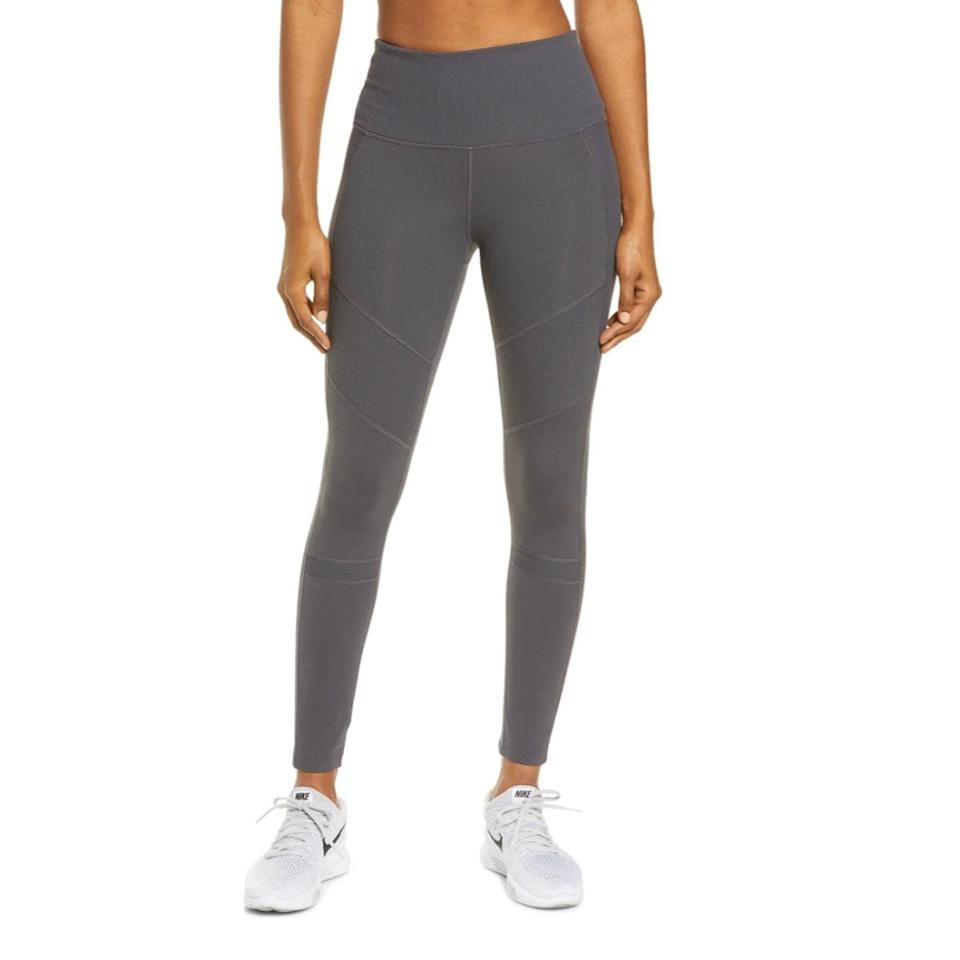 """If you're not lounging in <a href=""""https://www.glamour.com/story/zella-leggings-nordstrom-review?mbid=synd_yahoo_rss"""" rel=""""nofollow noopener"""" target=""""_blank"""" data-ylk=""""slk:Zella leggings"""" class=""""link rapid-noclick-resp"""">Zella leggings</a> this winter, you're doing it all wrong. Opt for this textured number if you could use a break from all the seamless styles you've probably acquired by now. $69, Nordstrom. <a href=""""https://www.nordstrom.com/s/zella-moto-ribbed-high-waist-ankle-leggings/5367107?"""" rel=""""nofollow noopener"""" target=""""_blank"""" data-ylk=""""slk:Get it now!"""" class=""""link rapid-noclick-resp"""">Get it now!</a>"""