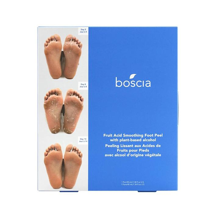 boscia, best foot peel masks