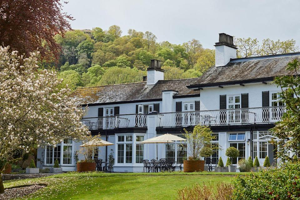 """<p>This gorgeous boutique hotel in Ambleside is just moments from Windermere and has 18 bedrooms, with eight luxury suites on the way for January 2022.</p><p><a href=""""https://www.booking.com/hotel/gb/rothay-manor.en-gb.html?aid=2070929&label=luxury-lake-district-hotels"""" rel=""""nofollow noopener"""" target=""""_blank"""" data-ylk=""""slk:Rothay Manor"""" class=""""link rapid-noclick-resp"""">Rothay Manor</a> is beautiful inside and out, with chic, country-style interiors to complement its exterior. Head chef Dan McGeorge has just been named Champion of Champions from this year's Great British Menu and there's a new seven-course tasting menu for you to try this summer.</p><p>The setting is as wonderful as the interiors and food, with Rothay Manor being perfectly placed for hilly hikes and adventures in the fells.</p><p><a href=""""https://www.redescapes.com/offers/lake-district-ambleside-rothay-manor"""" rel=""""nofollow noopener"""" target=""""_blank"""" data-ylk=""""slk:Read our review of Rothay Manor"""" class=""""link rapid-noclick-resp"""">Read our review of Rothay Manor</a></p><p><a class=""""link rapid-noclick-resp"""" href=""""https://www.booking.com/hotel/gb/rothay-manor.en-gb.html?aid=2070929&label=luxury-lake-district-hotels"""" rel=""""nofollow noopener"""" target=""""_blank"""" data-ylk=""""slk:CHECK AVAILABILITY"""">CHECK AVAILABILITY</a></p>"""