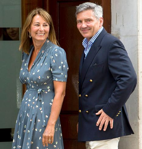 "Carole Middleton: Royal Prince Is ""Absolutely Beautiful,"" Kate, Baby ""Doing Really Well"""