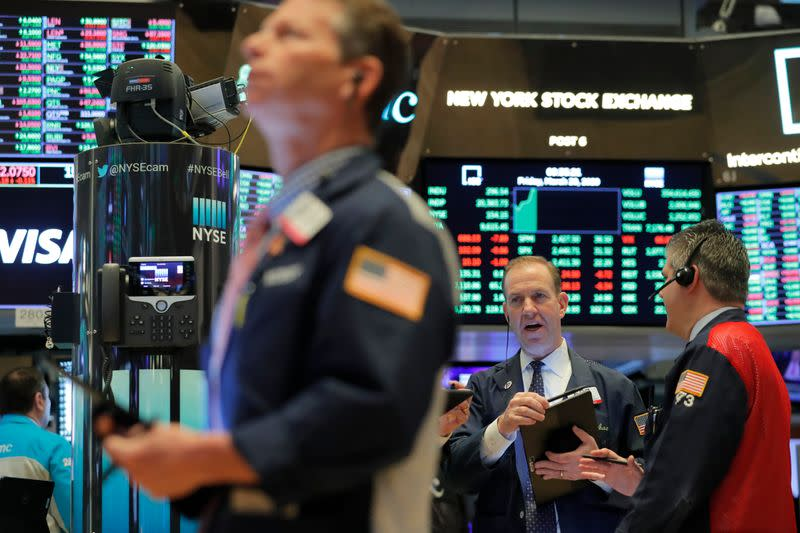 Stocks jump ahead of major earnings, economic data