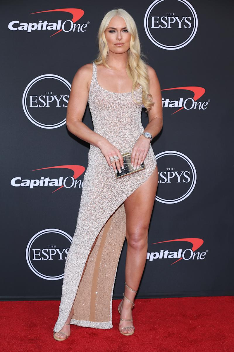 Copy this Lindsey Vonn outfit for the next party where you're the center of attention.