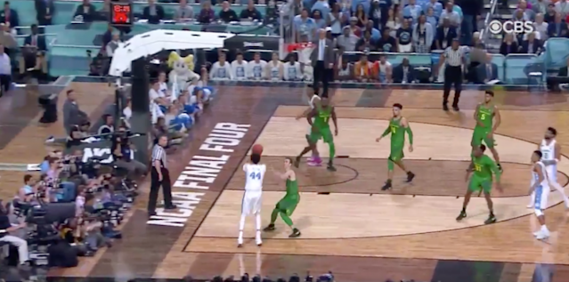 Jackson, without hesitation, took (and made) this shot with 25 seconds left on the shot clock.