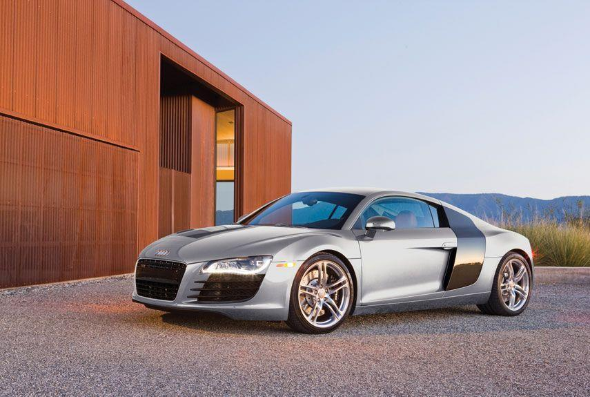 <p>It was only a matter of time before Audi produced a supercar of its own, and when it finally appeared, the R8 was universally adored with potent engines and a unique appearance.</p>