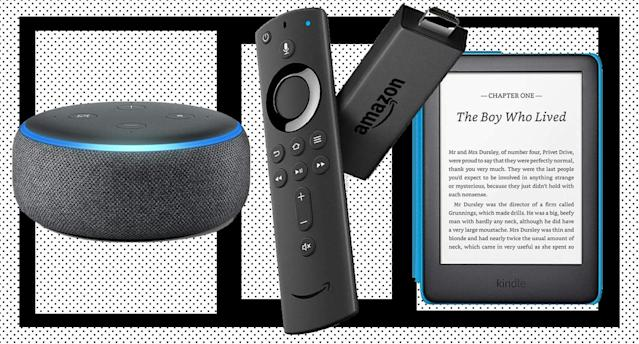 These are the best Amazon device deals this Black Friday. [Photo: Yahoo Style UK]