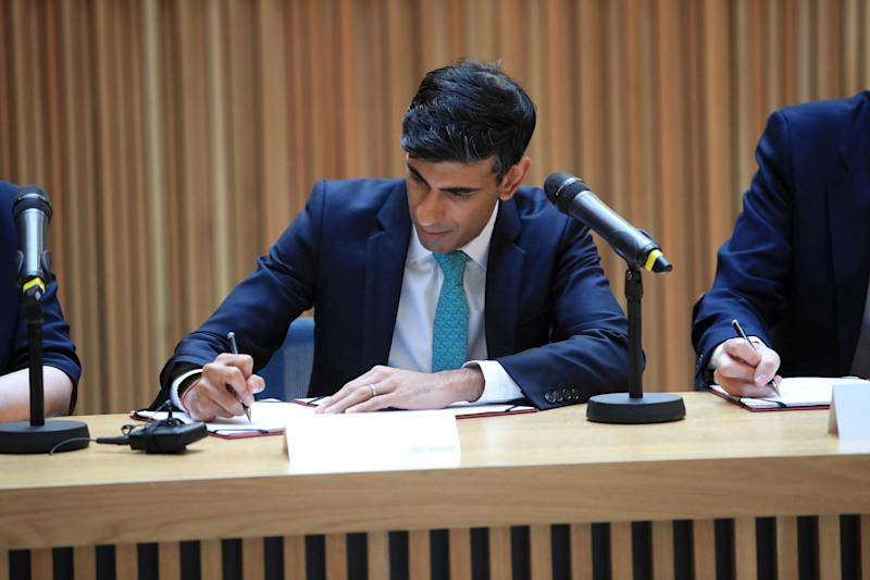 Rishi Sunak is poised to throw self-employed workers a lifeline amid the coronavirus crisis as he announces a new financial package in the latest bid to help Britain through the epidemic: REUTERS