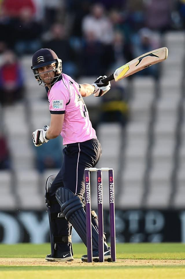 Joe Burns, seen here playing for Middlesex, says the coronavirus pandemic has given Australia's cricketers the chance to prepare well for the next southern season (Adam Davy/PA)