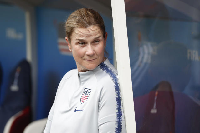 Jill Ellis and the United States have no complains so far about their training ground ahead of Friday's quarterfinal vs. France. (Getty)