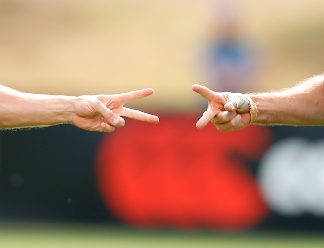 Rock, paper, scissors could be used by referees in protest at a colleague's suspension.