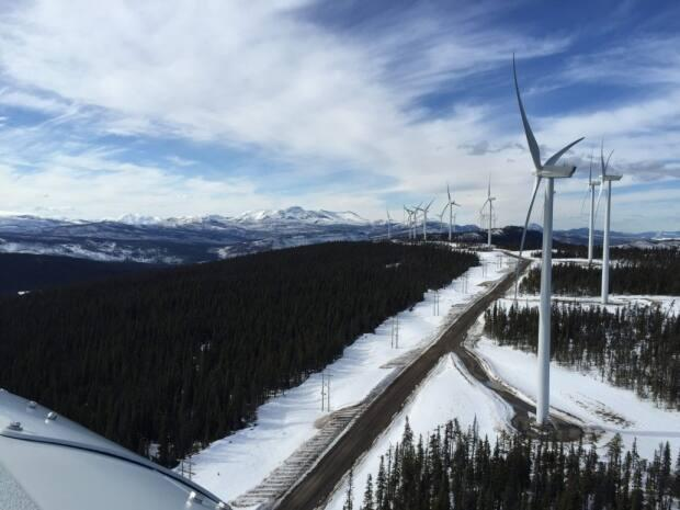 Vancouver's Sophie Pilkington was one of four finalists from B.C., with this photo of the Dokie Ridge Wind Farm near Chetwynd of northeastern B.C.