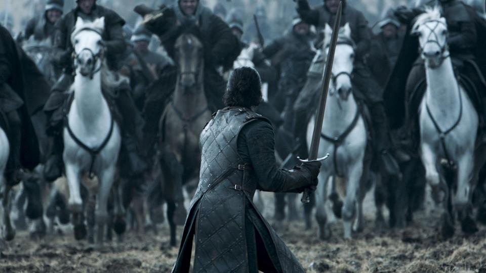 Kit Harington as Jon Snow in Game of Thrones (HBO)