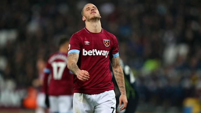 West Ham are set to be without Marko Arnautovic for up to a month after he sustained a muscle injury against Cardiff City on Tuesday.