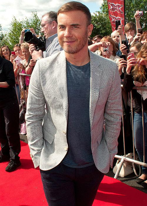 Take That frontman Gary Barlow landed fourth in the poll.