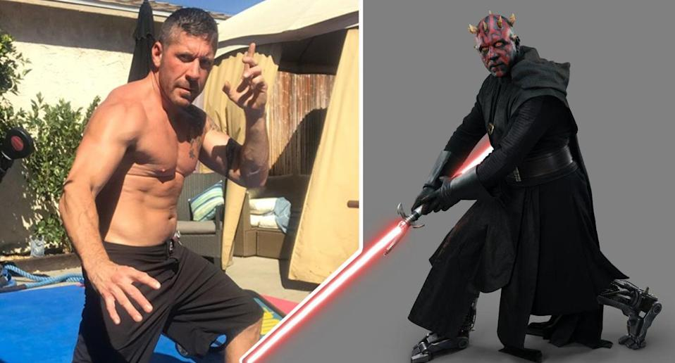 """Ray Park says he """"worked his butt off"""" to play Maul in <i>Solo: A Star Wars Story</i> (Instagram/Lucasfilm)"""