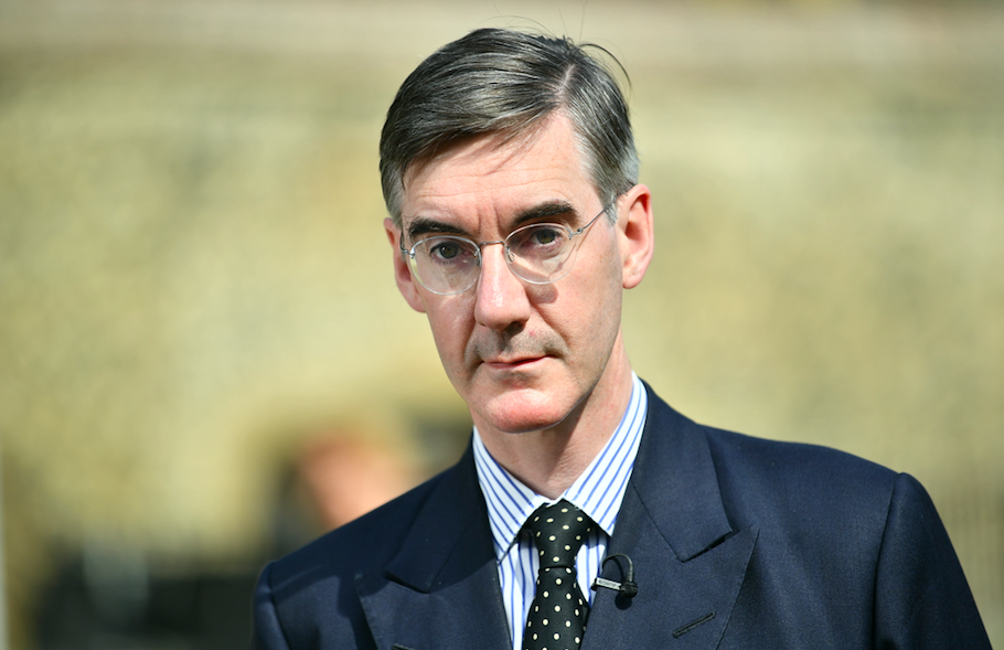 <em>Mr Rees-Mogg secured 53% of the vote in his constituency in the 2017 General Election (Rex)</em>