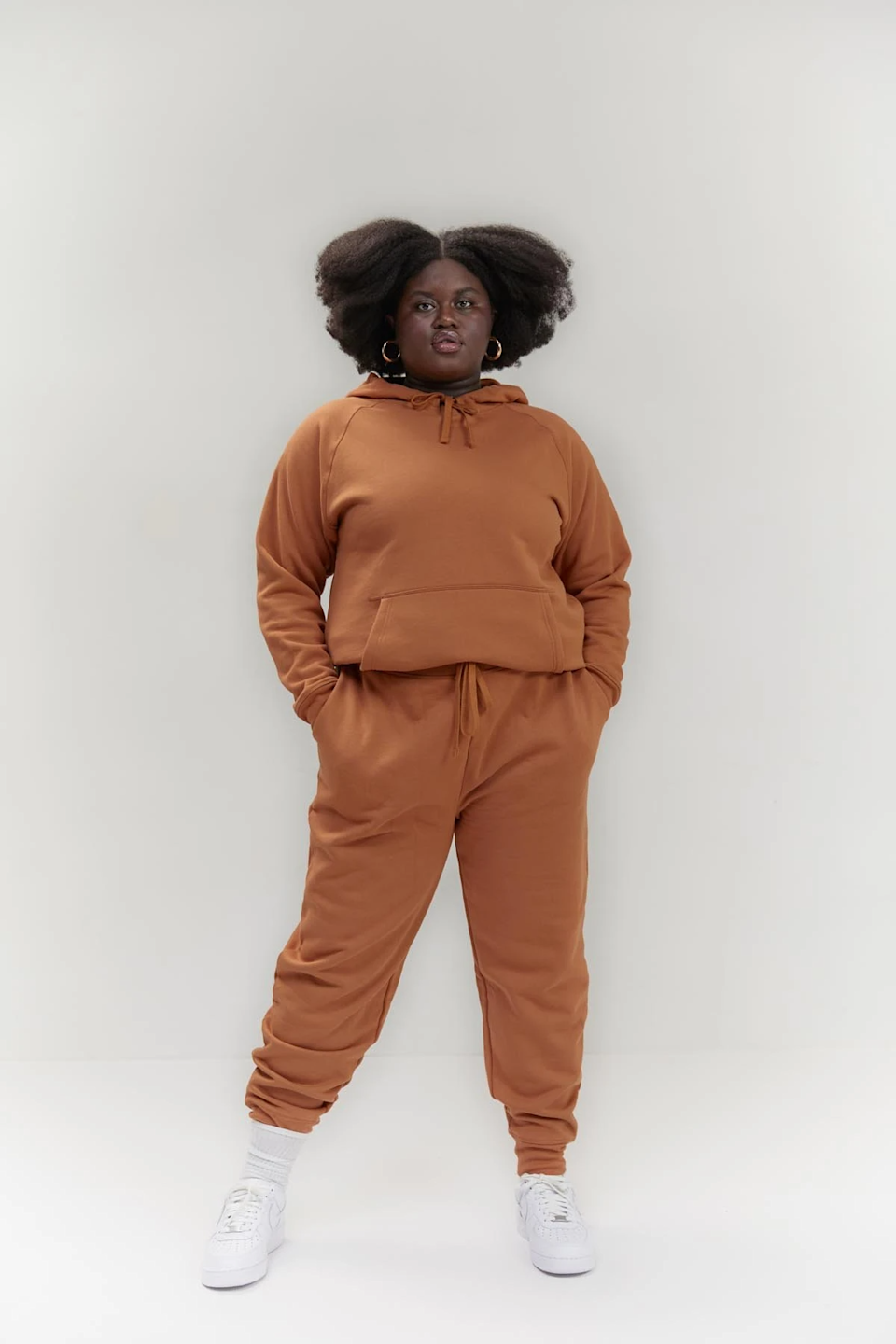 "<h3>Girlfriend Collective</h3><br>Check out the brand new unisex sweatsuits in the <a href=""https://www.girlfriend.com/collections/for-everyone"" rel=""nofollow noopener"" target=""_blank"" data-ylk=""slk:For Everyone Collection"" class=""link rapid-noclick-resp"">For Everyone Collection</a> from the sustainable activewear company we know and love. Made with 50% recycled cotton and 50% organic cotton, this is a purchase we know you'll feel good about. <br><br><em>Shop </em><a href=""https://www.girlfriend.com/"" rel=""nofollow noopener"" target=""_blank"" data-ylk=""slk:Girlfriend Collective"" class=""link rapid-noclick-resp""><strong><em>Girlfriend Collective</em></strong></a><br><br><strong>Girlfriend Collective</strong> Everyone Hoodie, $, available at <a href=""https://go.skimresources.com/?id=30283X879131&url=https%3A%2F%2Fwww.girlfriend.com%2Fcollections%2Ffor-everyone%2Fproducts%2Fchai-everyone-hoodie"" rel=""nofollow noopener"" target=""_blank"" data-ylk=""slk:Girlfriend"" class=""link rapid-noclick-resp"">Girlfriend</a><br><br><strong>Girlfriend Collective</strong> Everyone Mid-Rise Jogger, $, available at <a href=""https://go.skimresources.com/?id=30283X879131&url=https%3A%2F%2Fwww.girlfriend.com%2Fproducts%2Fchai-everyone-mid-rise-jogger"" rel=""nofollow noopener"" target=""_blank"" data-ylk=""slk:Girlfriend"" class=""link rapid-noclick-resp"">Girlfriend</a>"