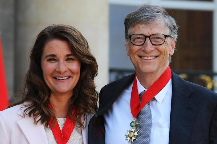 Bill and Melinda Gates in 2017. / Credit: Frederic Stevens / Getty
