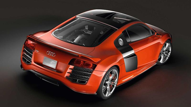 the audi r8 v12 tdi is a diesel supercar from a parallel. Black Bedroom Furniture Sets. Home Design Ideas