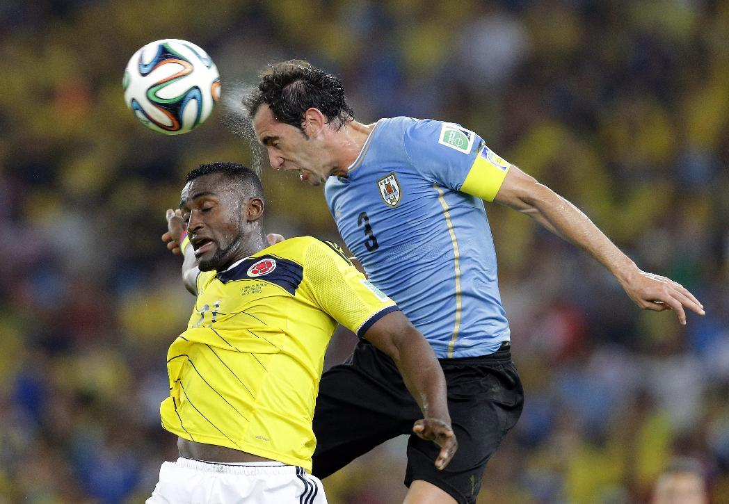 Colombia Uruguay: World Cup Round Of 16