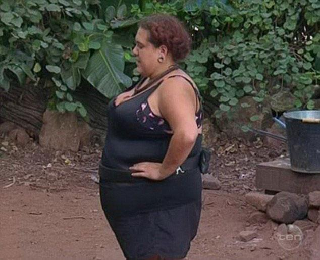 Casey has previously spoken about her battle with her weight while in the jungle. Source: Channel 10