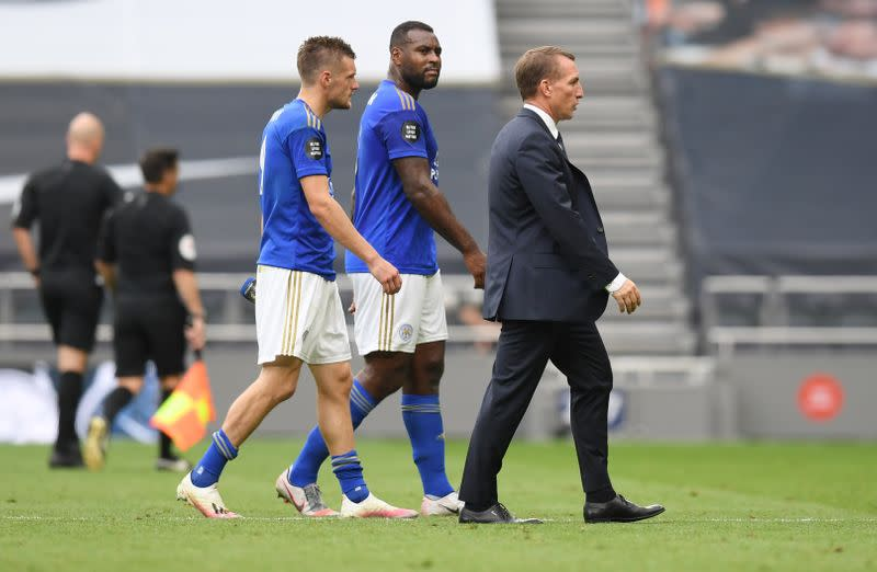 Leicester boss Rodgers relishing 'perfect' finale against Man Utd