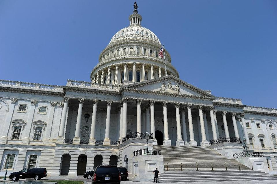 The US Capitol building in Washington, DC, the seat of the United States Congress (AFP Photo/Jewel Samad)