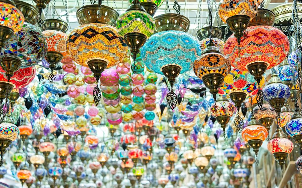 Lamps in the Mutrah Souq - Getty