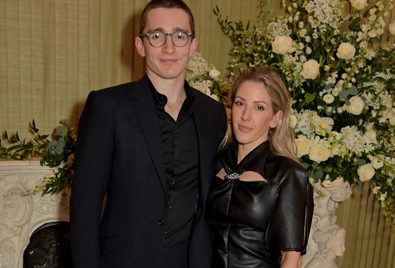 Ellie Goulding is living apart from her husband Caspar Jopling due to work. (Getty Images)