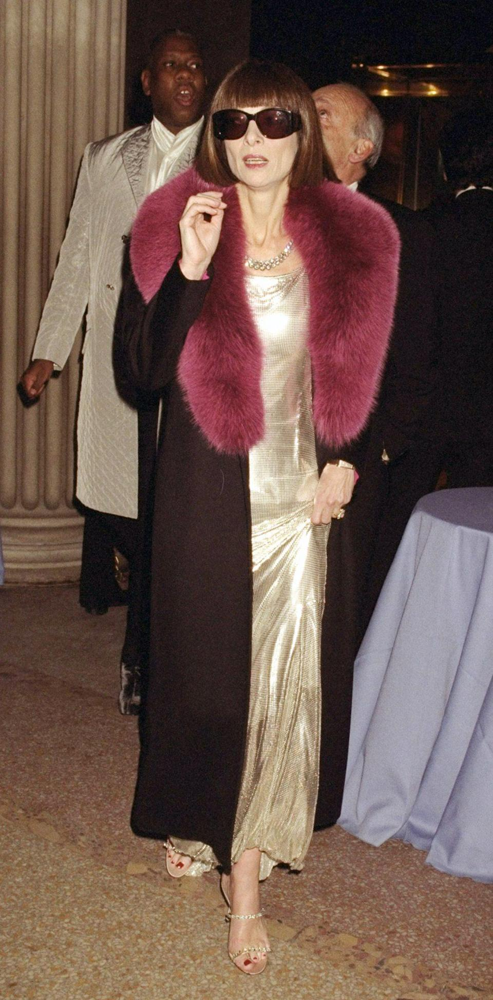 <p><strong>The theme: </strong>Gianni Versace </p> <p><strong>The co-chairs: </strong>Anna Wintour, Julia Koch and Patrick McCarthy </p>